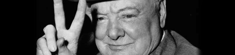 L'enthousiasme de Churchill