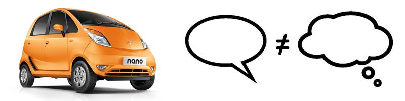 Ce que le client ne dit pas